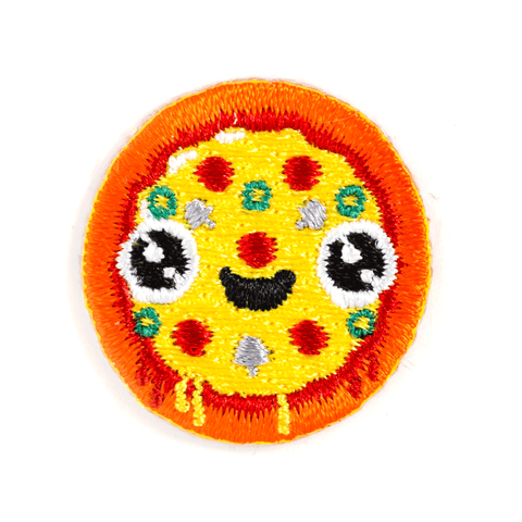Pizza Face Sticker Patch