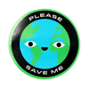 Please Save Me Vinyl Sticker