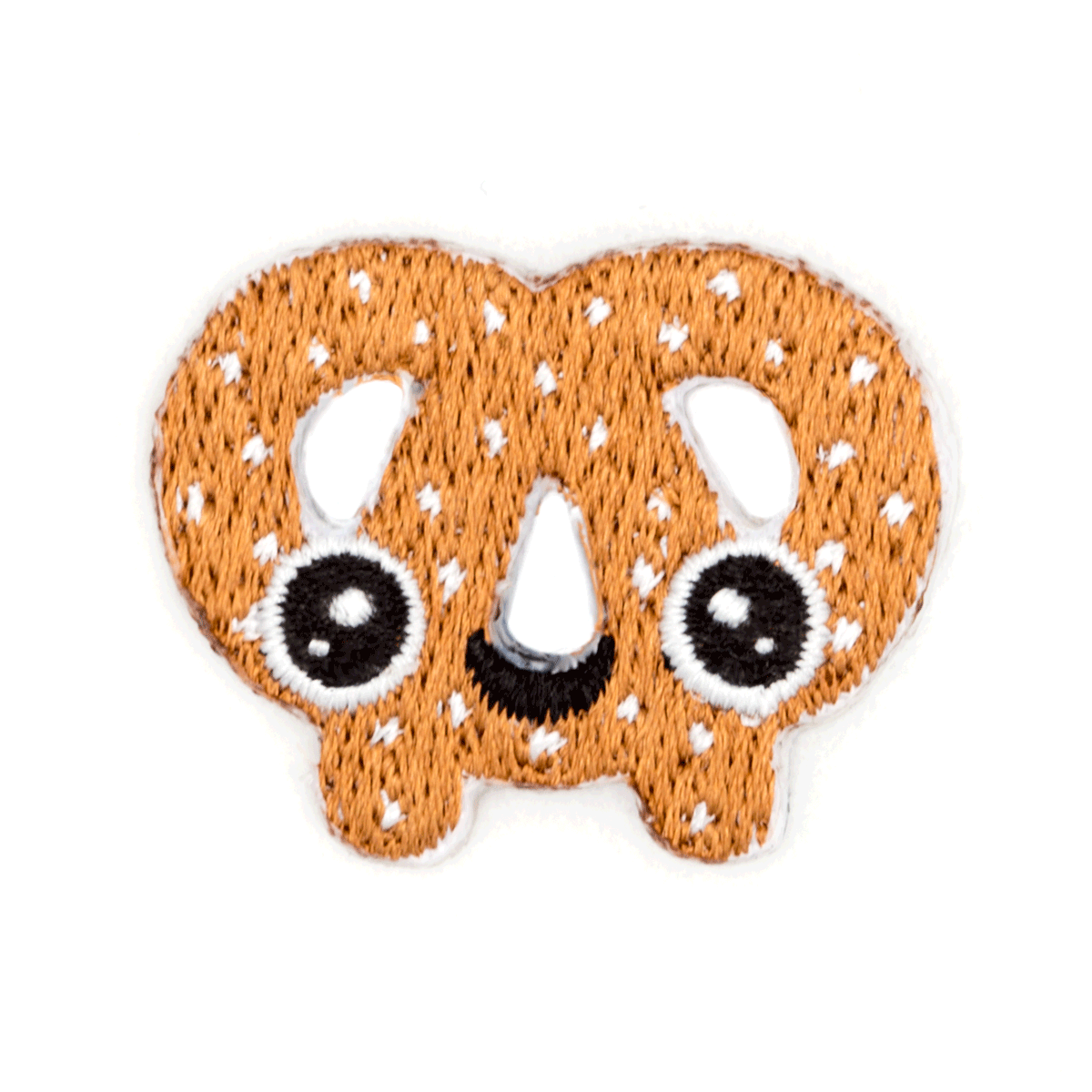 Pretzel Face Sticker Patch