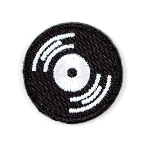 Record Sticker Patch