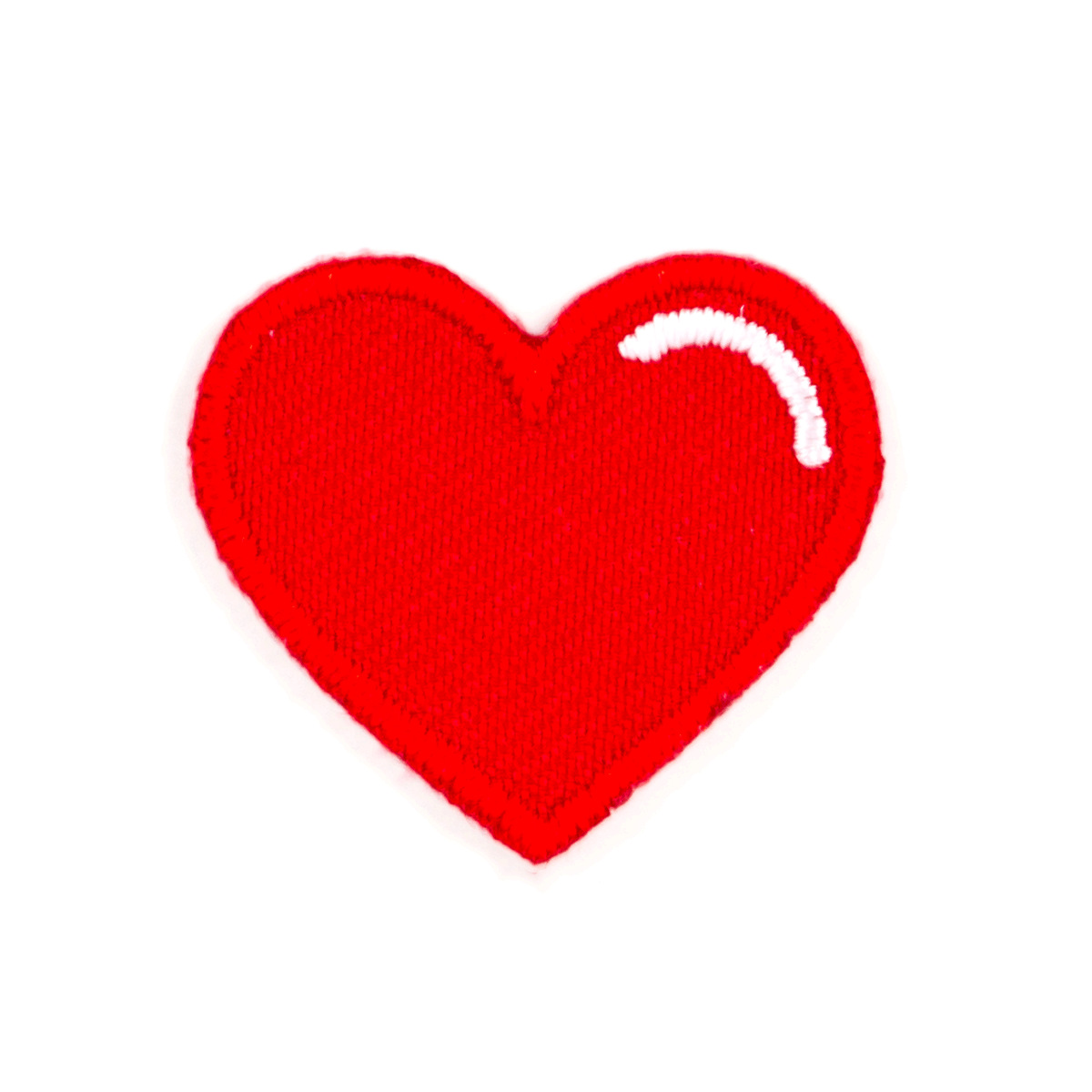 Red Heart Sticker Patch