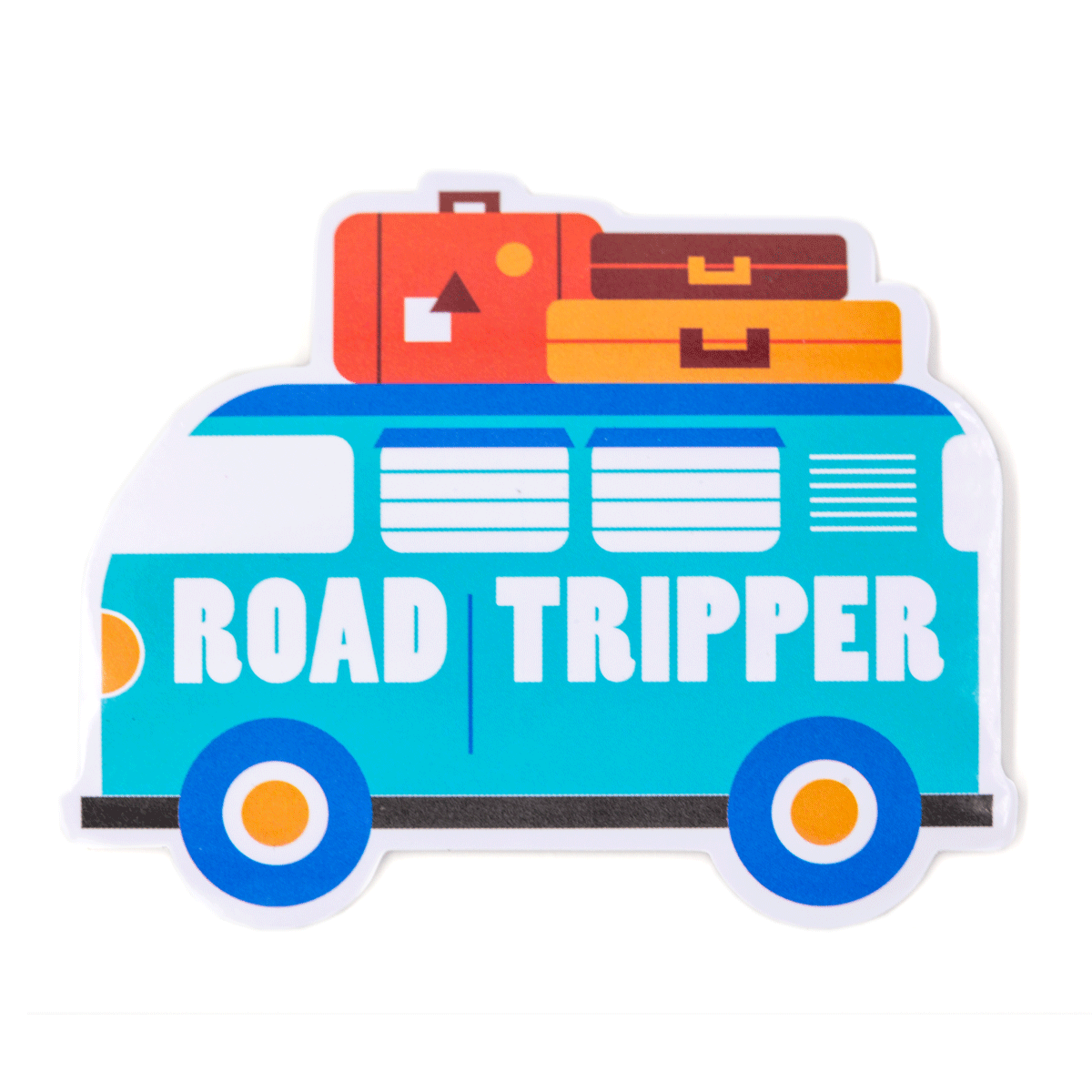 Road Tripper Vinyl Sticker
