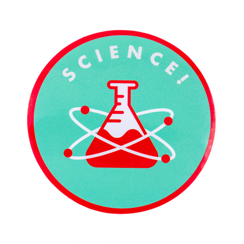 Science Vinyl Sticker