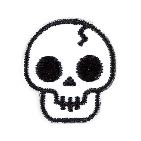 Skull Sticker Patch