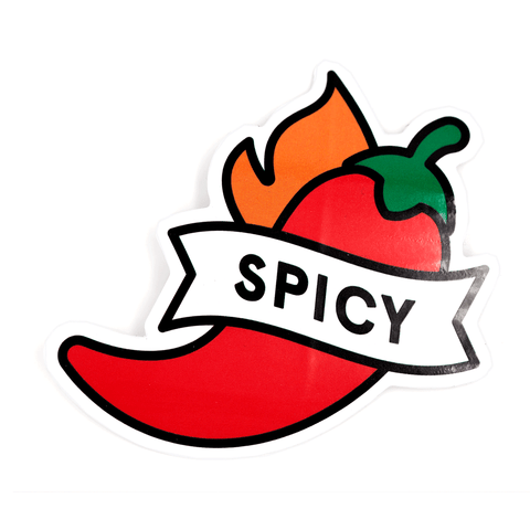 Spicy Pepper Vinyl Sticker
