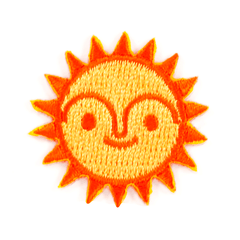 Sun Sticker Patch