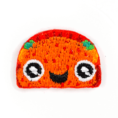 Taco Face Sticker Patch
