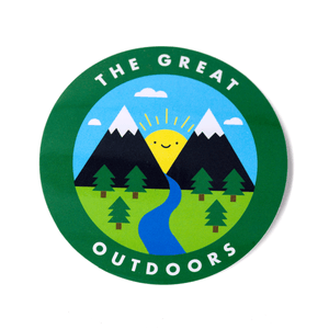 The Great Outdoors Vinyl Sticker
