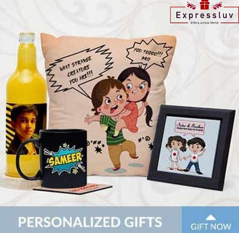 Raksha Bandhan gifts personalized