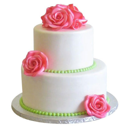 Two Steps Cake for Occasion, 2 step wedding cake online  - Expressluv.in