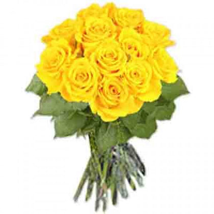 Yellow Roses Bunch  - Expressluv.in