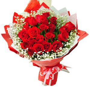 Red Roses Bouquet, send valentine roses, red roses bouquet pretty valentine roses  - Expressluv.in