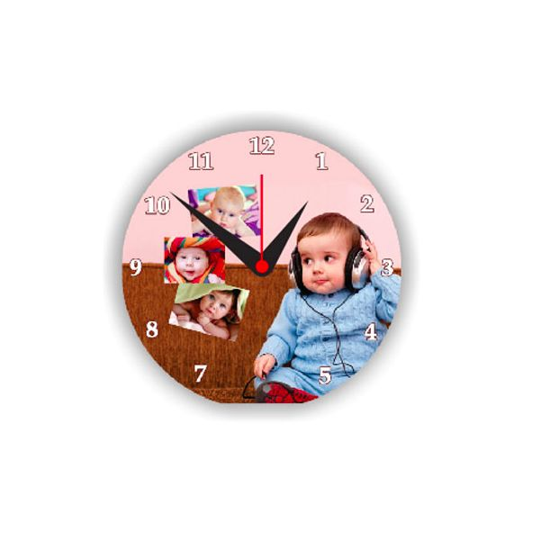 Round Shaped Table Clock  - Expressluv.in