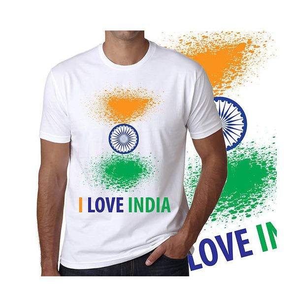 White Collar T-Shirt Free Size  - Expressluv.in