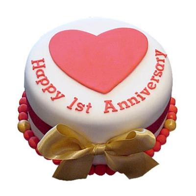 First Anniversary Cake  - Expressluv.in