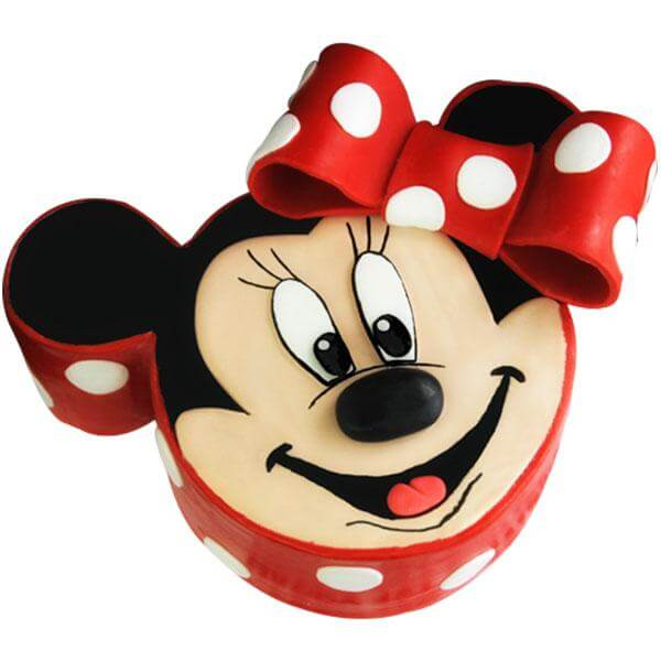 Minnie Mickey Cake 2kgs