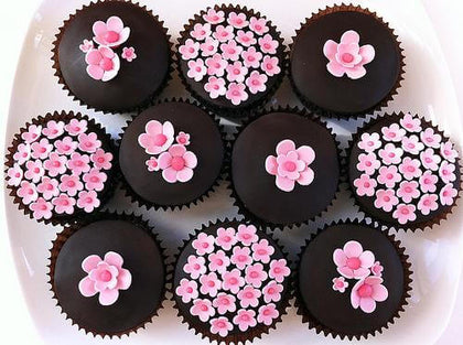 Chocolate Cup Cakes - 10 Piece