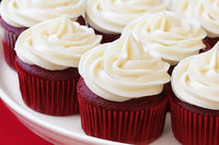 Red Velvet Cup Cake 15 Piece  - Expressluv.in