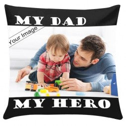White Pillow with Personalized Photo  - Expressluv.in