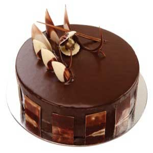 Truffle Cake, chocolate truffle cake eggless, chocolate truffle layer cake  - Expressluv.in