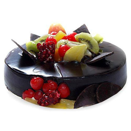 Tasty Choco Fruit Cake  - Expressluv.in