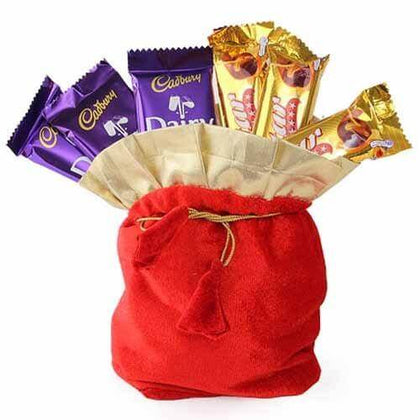 Chocolates in Potli