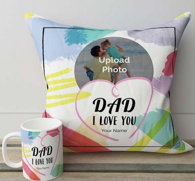 Pillow n Mug  - Expressluv.in