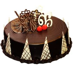Chocolate Delicious Cake, yummy cake full of chocolate, gift cakes online  - Expressluv.in