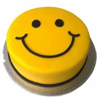 Smiley Cake, smiley emoji cake, smiley face cake  - Expressluv.in