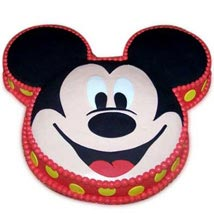 Soft Mickey Face Cake  - Expressluv.in