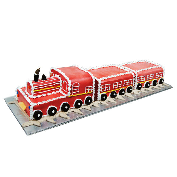 Train Design Cake  - Expressluv.in