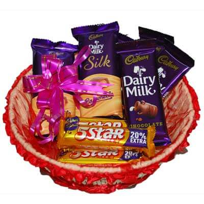 Basket of Chocos