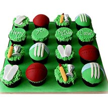 Cricket Cup Cakes  - Expressluv.in