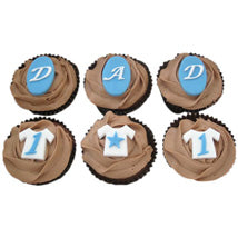 Dad Chocolate Cup Cakes