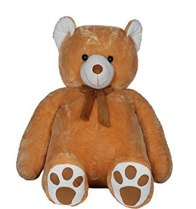 Large Brown Teddy Bear 110cm  - Expressluv.in