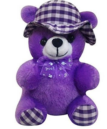 Purple Teddy Bear 10cm  - Expressluv.in