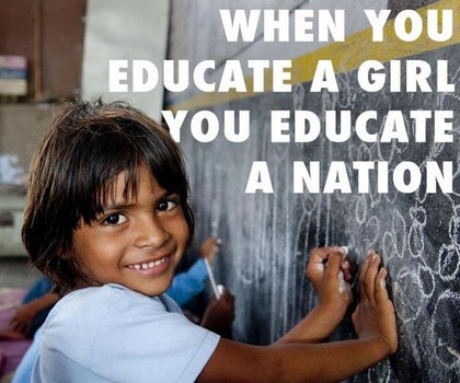 Support for Girls Education  - Expressluv.in