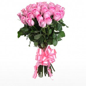 Surprise with Pink Roses Bunch  - Expressluv.in