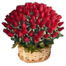 Giant Roses Basket  - Expressluv.in