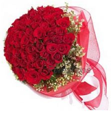 Fantasy Red Roses Bunch  - Expressluv.in