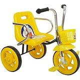 Baby Royal Tricycle yellow in color with a doremon in the cycle sheat - Expressluv.in