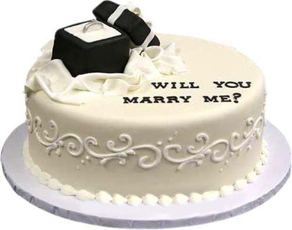 Will you Marry me cake online  - Expressluv.in