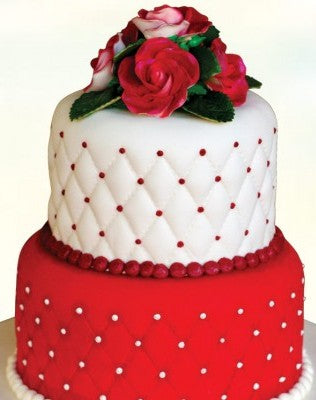 Two Step Cake Fondant Cake, two step birthday cake, two step wedding cake  - Expressluv.in