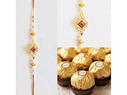 Rakhi Combo with Chocoaltes USA - USA