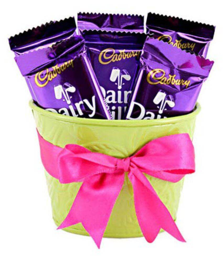 Mug of Dairy Milk Chocolates