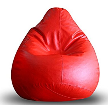 Red Bean Bag XL Size  - Expressluv.in