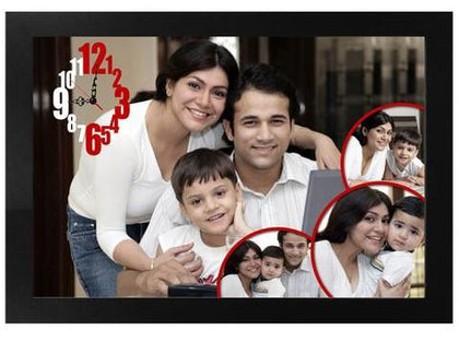 Clock Photo Frame 12x18  - Expressluv.in