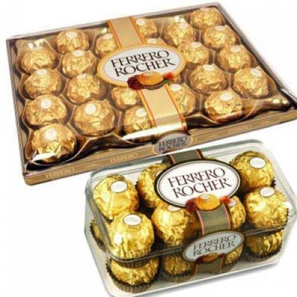 Ferrero 24 n Ferrero 16 with Message Card