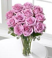 12 Pink Roses this is beautiful 12 pink color roses with leaves order now - Expressluv.in