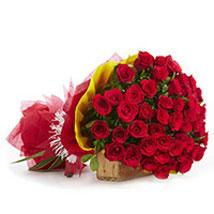 Eternal Bliss with 30 Red Roses  - Expressluv.in